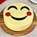 Blush Emoji Chocolate Cake 2kg