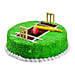 Cricket Pitch Cake 3kg Vanilla