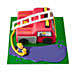Fire Engine Fondant Cake Chocolate 4kg