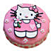 Hello Kitty Birthday Cake 3kg Truffle Eggless