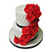 Rose Fondant Cake Chocolate 4kg