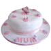 Simple and Sweet Love Mom Cake 4kg Vanilla