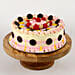 Colourful Black Forest Cream Cake- 2 Kg Eggless