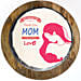 Love Mom Chocolate Truffle Photo Cake- 1 Kg Eggless