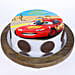McQueen Photo Cake- Pineapple 1 Kg