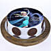 Princess Elsa Photo Cake- Pineapple 2 Kg Eggless