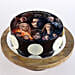 Game Of Thrones Chocolate Photo Cake- Half Kg