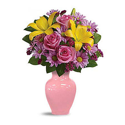 Spring Serenade Bouquet:Flower Arrangments in Indonesia