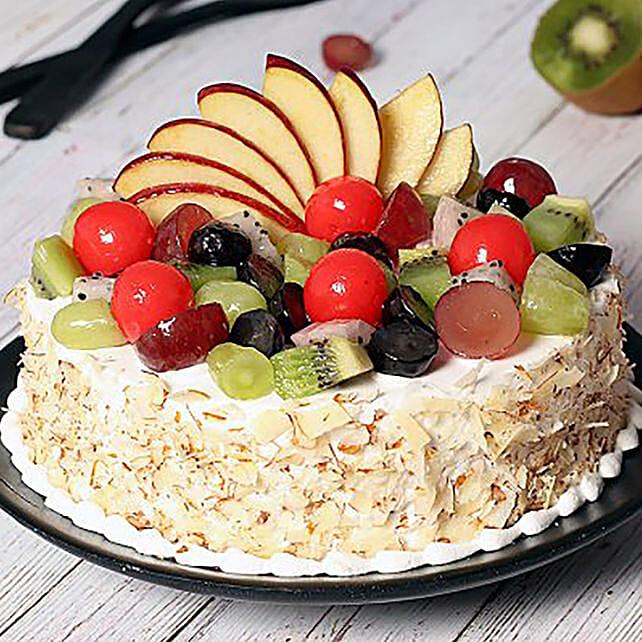 Vanilla Fruit Cake:Order Cakes in Saudi Arabia