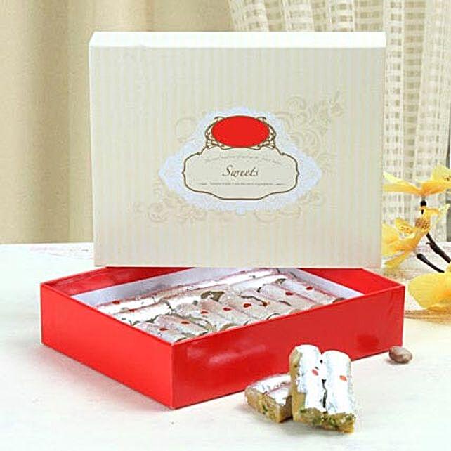 Box of Kaju Roll:Send Sweets to Singapore