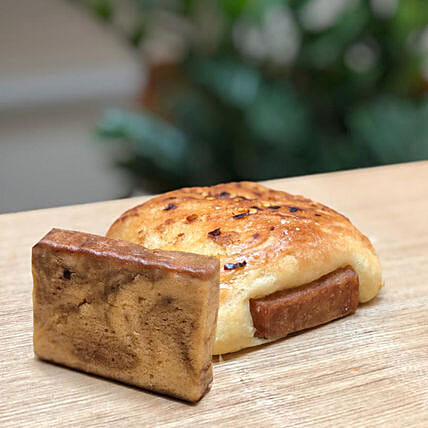 Chicken Brioche - Chocolate Marble Teacake Combo