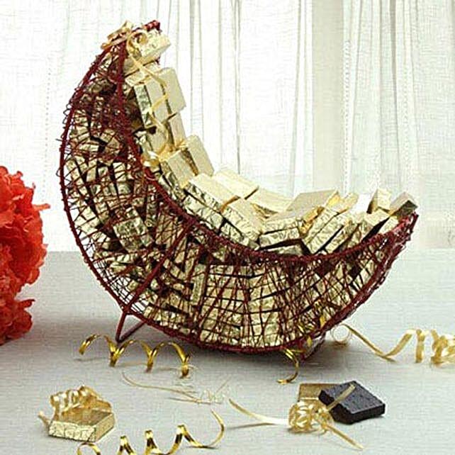 Delightful Assorted Chocolates Arrangement