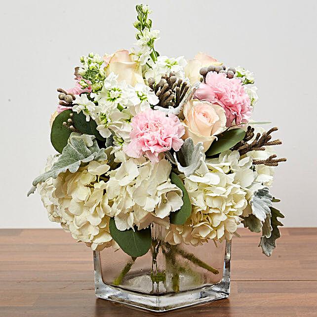 Enchanting Flower Vase Arrangement