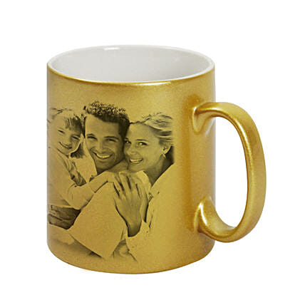 Golden Best Couple Personalised Mug:Personalised Mugs to Singapore