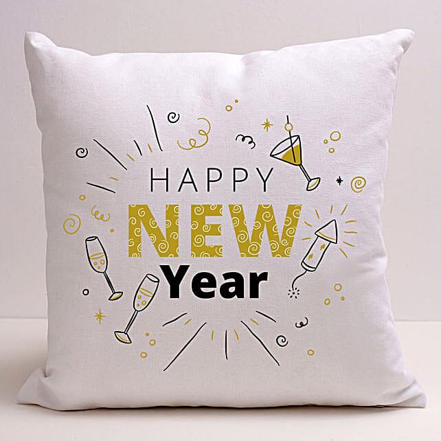 Happening New Year Greetings Cushion:Send Cushion to Singapore