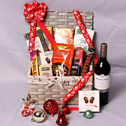 Jacobs Creek Wine And Snack Hamper