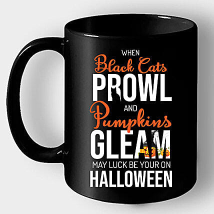 Online Coffee Mug with Halloween Quote