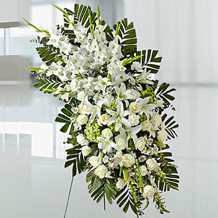 Luxurious White Flowers