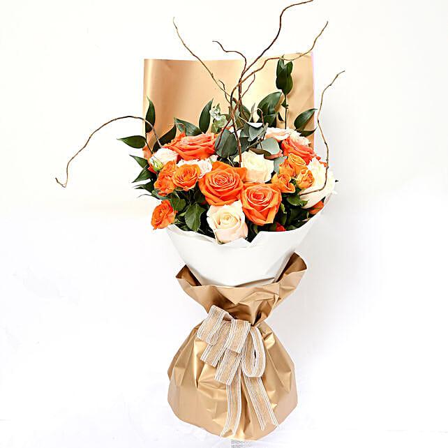Midsummer Mixed Roses Bouquet