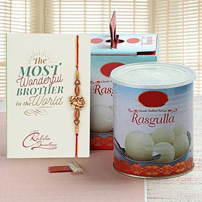 Rasgulla And Rakhi