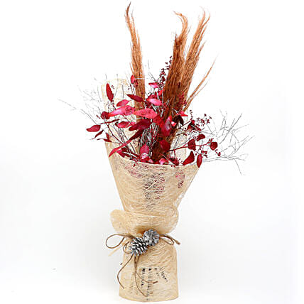 Rustic Nature Dried Flower Bouquet