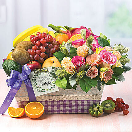 Blissful Bundle:Fruit Baskets to Singapore