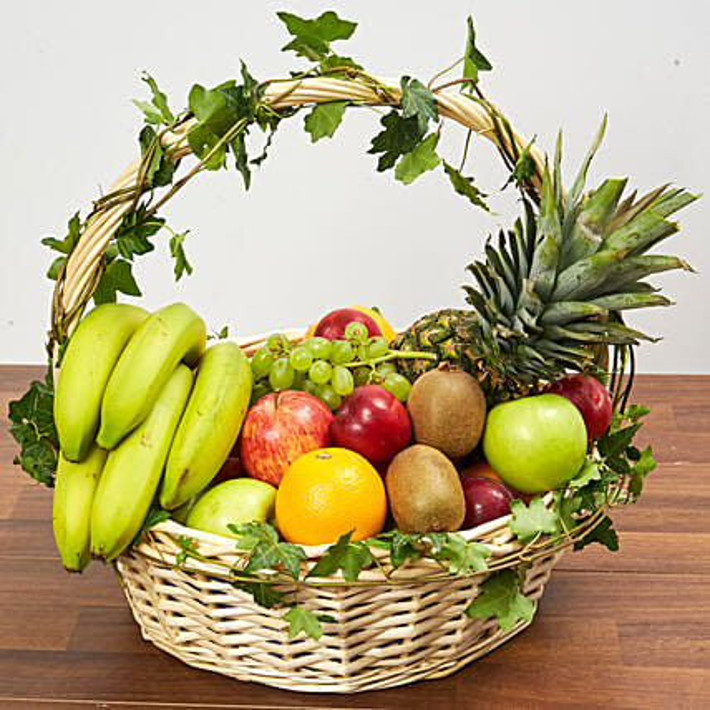 Fruit Basket:Gift Basket to Singapore