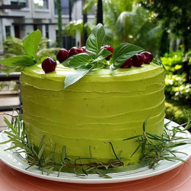 Buttercream Berries Cake