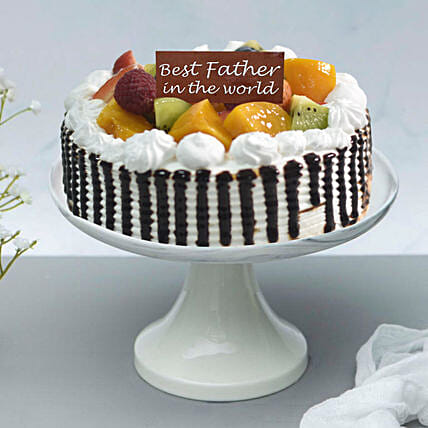 Chantilly Fruit Cake For Fathers Day