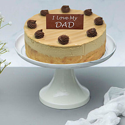 Sweet Caramel Cake For Fathers Day