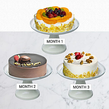 Sweet Cake Club For 3 Months