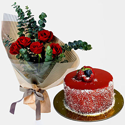 Sweet Love Red Roses Bouquet
