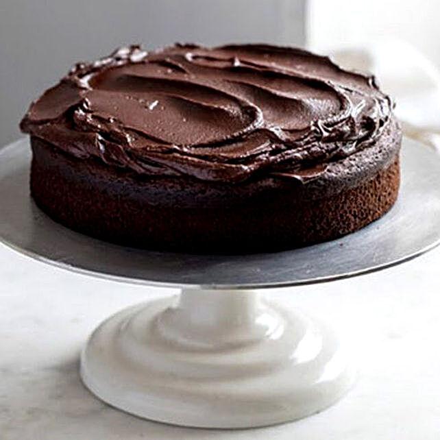 Vegan Triple Chocolate Banana Cake