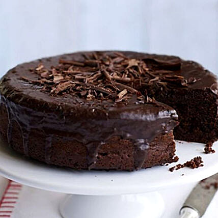 Vegan Triple Dark Chocolate Cake
