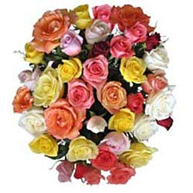 15 Mix Roses in Cello SA