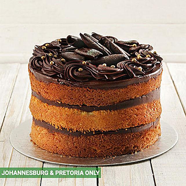 Chocolate and Vanilla Naked Cake 20cm