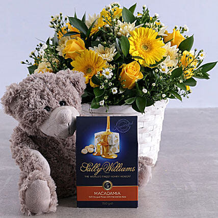 Golden Flower Hamper