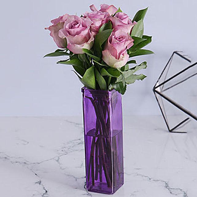 Precious Light Purple Arrangement