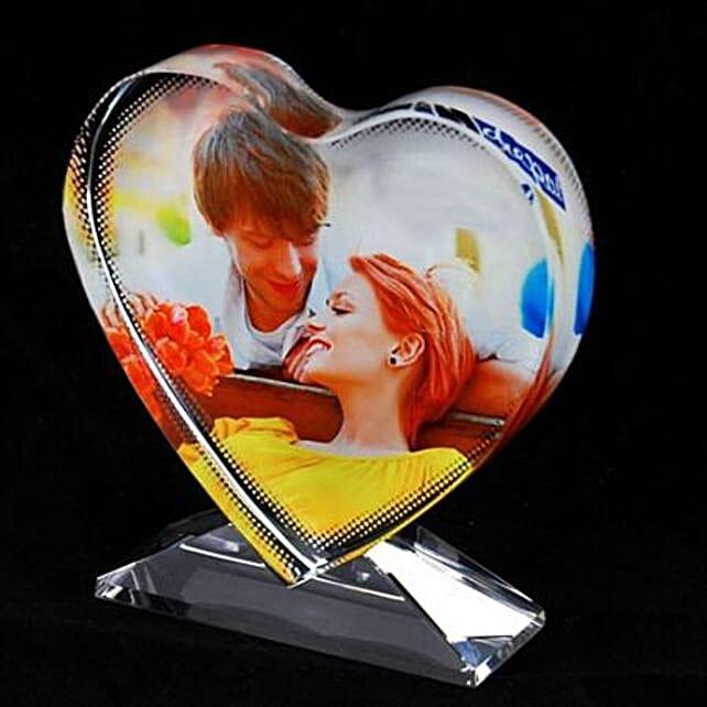 Personalised Crystal Trophy