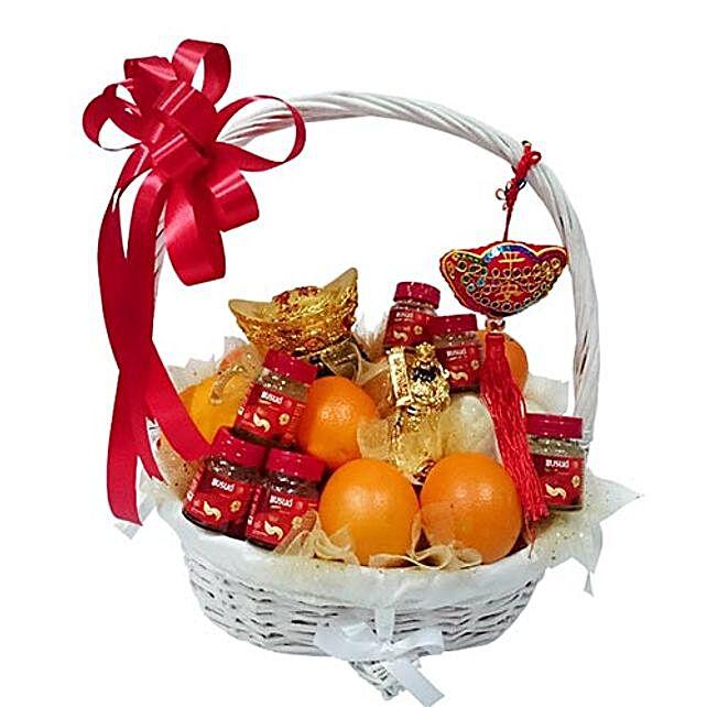 Lucky Charm Orange Basket