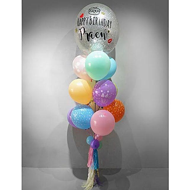 Personalised Confetti Balloon Set