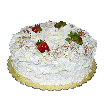 1 Kg White Forest Cake in uae | Gift 1 Kg White Forest Cake - Ferns N Petals