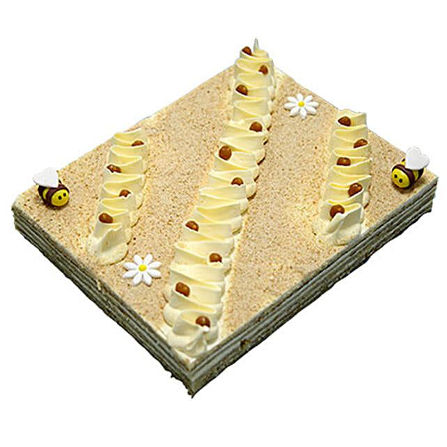 4 Portion Tempting Honey Cake