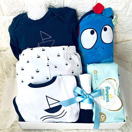 Baby Blue Love Gift Hamper