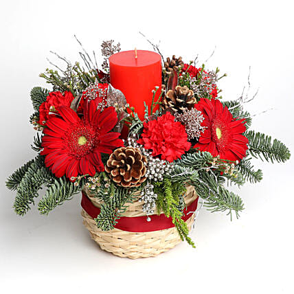 Basket of Holiday Wishes