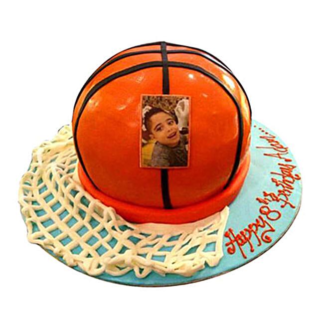 Basketball Ball Cake