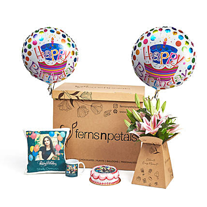 Because Its Your B Day Gift Box