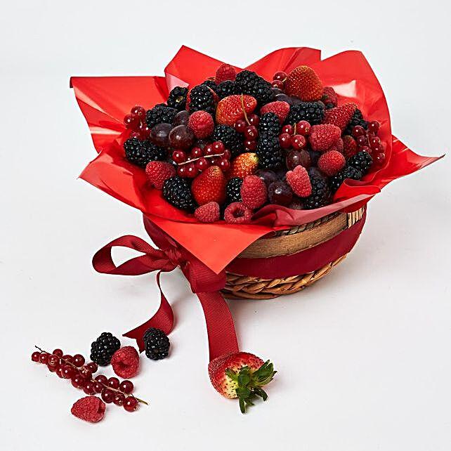 Berries Sensation Basket:Fruit Basket Delivery UAE