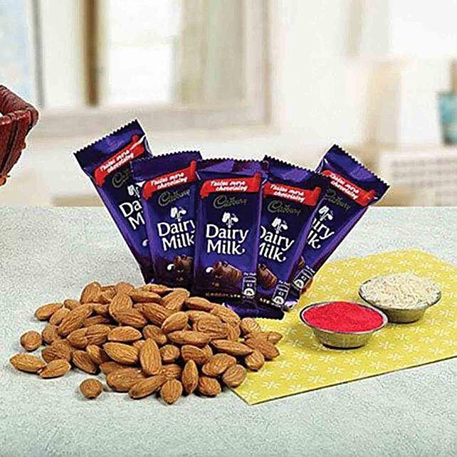 Bhai Dooj Choco Hamper:Send Bhai Dooj Gifts to UAE