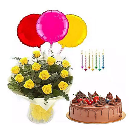 Birthday Surprise Collection 2:Flowers and Cake Delivery in UAE